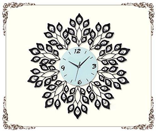 Unbekannt Eisen Persönlichkeit Wohnzimmer Wanduhr Große Moderne Minimalistische Kreative Uhr Gartenuhr Quarz Uhr Schlafzimmer Stumm Uhr