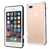"iPhone 6/6S Plus Custodia impermeabile, ERUN Custodia impermeabile iPhone 6 Plus, 6.6ft subacquea Shock neve contro lo sporco Copri urti Resistente all'acqua per iPhone 6/6S Plus 5.5""Bianco"