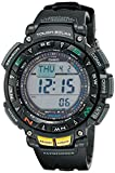 Casio PAG240-1CR - Reloj de Pulsera Hombre, Resina, Color Negro