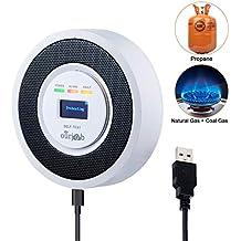 Alarma de Gas, Detector de Gas LPG/Natural/Ciudad, Alimentado por USB