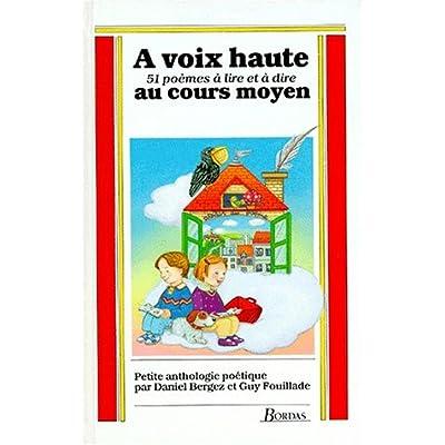 Read A Voix Haute Cm12 51 Poemes Online Clairprince