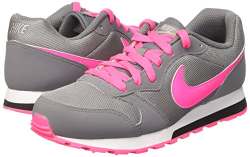 Nike Md Runner 2 (Gs) Cool GreyHyper Pink Black