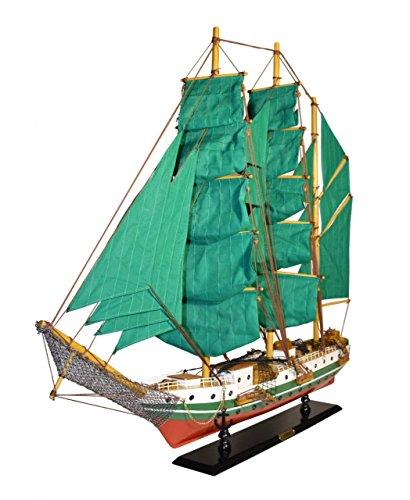 Navyline Holz-Modellschiff Humboldt mit Standhalterung