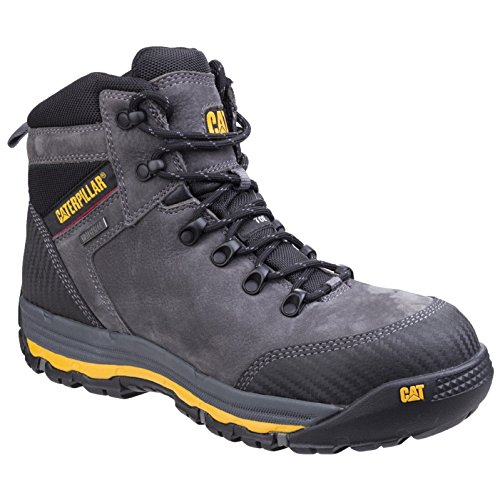 Cat Workwear muni06410 munising p720161 Scarpe antinfortunistiche alte S3, 41, Grigio