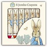 Beatrix Potter Peter Rabbit Jumbo Colouring Crayons, Pack of 8