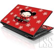 "LSS 15""y 15,6pulgadas portátil notebook piel Sticker Cover Art vinilo para 13.3"" 14""15.6"" 16""HP Dell Lenovo Apple Asus Acer Compaq (libre 2muñeca incluye almohadilla) chino"