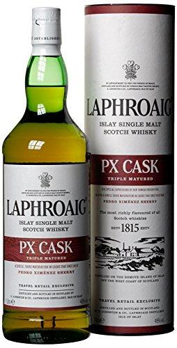 Verbergen Sahne (Laphroaig PX Cask mit Geschenkverpackung  Whisky (1 x 1 l))