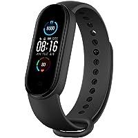 Xiaomi Mi Band 5 Global Armband mit Herzfrequenz-Fitness-Musik Bluetooth 5.0-Schrittzähler- und Messaging…