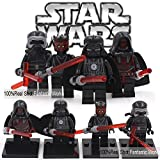 Set Minifigura compatible Custom Star Wars Darh Revan, Darth Vader, Kylo Ren, Darth Maul