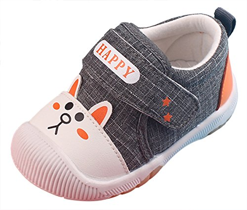 EOZY-Scarpe Primi Passi Sport Bambini Unisex Calzature Sportive Sneakers Bimbi Cachi Lunghezza 14.5cm aBQI9bfu