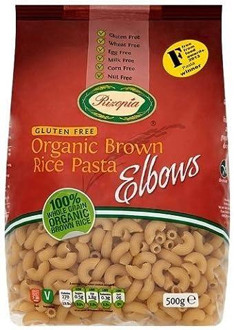 Rizopia Organic Elbows Brown Rice Pasta, 500g