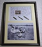 Tableau avec photo ancienne et texte sur le van ou le combi Volkswagen