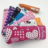 Tasche für den tiptoi Stift | WUNSCHNAME | viele Stoffdesigns zur Auswahl | Zubehör tiptoi | Schutzhülle | Case | Handmade | aus Deutschland | tolles Geschenk