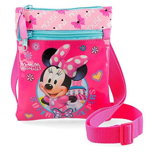 Disney Super Helpers Borsa Messenger 18 centimeters 0.13 Rosa