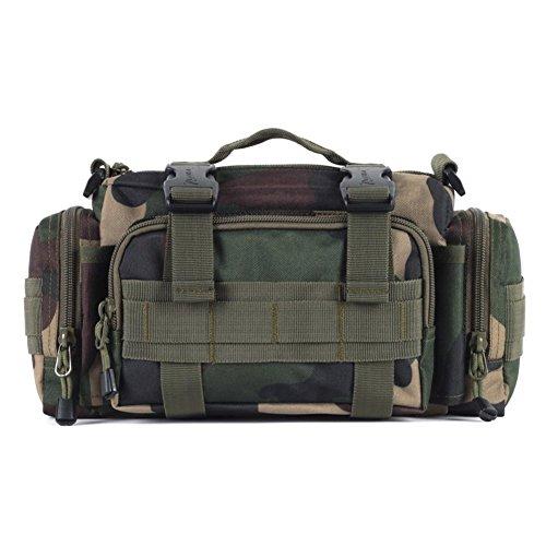 Sincere® Forfait / Sacs à dos / ventilateurs / Armée Ultraléger portables de camping super-homme sac de patrouille / sac à bandoulière Équipement pour l'extérieur-camouflage 1 20L