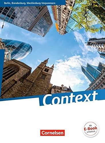 Context - Berlin/ Brandenburg/ Mecklenburg-Vorpommern - Ausgabe 2015: Schülerbuch: Kartoniert