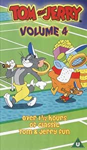 Tom and Jerry - Vol. 4 [VHS] [UK Import]