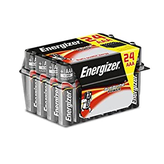 Energizer AAA Batteries, Alkaline Power Triple A Batteries, 24 Pack