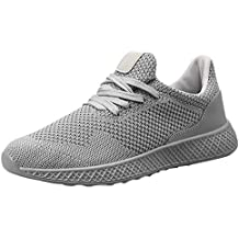Zapatillas Running para Hombre ZARLLE Zapatillas de Deporte Gimnasio Running Casual Zapatos Sneakers para Hombre Mujer
