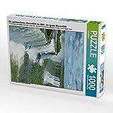 Die spektakulärsten Wasserfälle der Welt - die Iguazu Wasserfälle 1000 Teile Puzzle Hoch