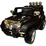 NEW DESIGN 12V TWIN MOTORS KIDS RIDE ON JEEP WITH 4 WYAS PARENTAL REMOTE CONTROL UP GRADED WITH A VOLTAGE METER+ openable doors + mp3 input + 2 speed option