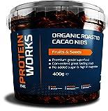 The Protein Works biogeröstete Kakaonibs, aus 100% peruanischen Kakaobohnen, 400g