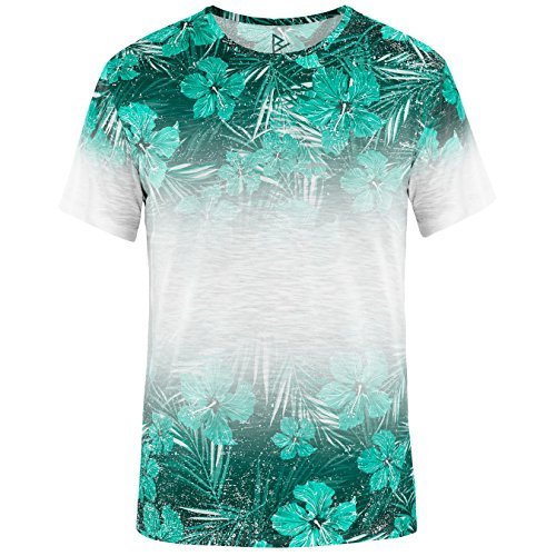 Blowhammer-Camiseta-de-Hombre-Tropical-TEE