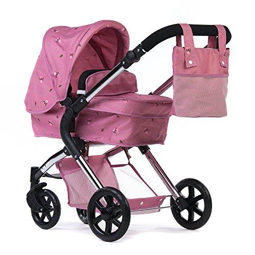 Roma Darcie Single Puppen-Kinderwagen, Rosa