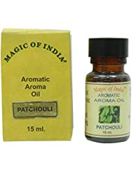 Patchouli Fragrance Aromatique Aroma Huile essentielle 100% pure et naturelle - 15 ml