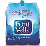 Font Vella - Agua Mineral 1,5l. Pack 6 botellas