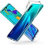 Spigen L38CS25736 Liquid Crystal Kompatibel mit Huawei P30 Hülle Transparent TPU Silikon Handyhülle Durchsichtige Schutzhülle Case - Crystal Clear