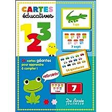 Cartes éducatives Chiffres
