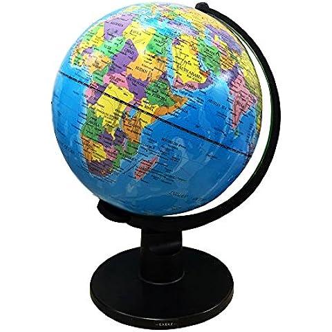 Exerz la Educación giratorio Globo en inglés- (L - Diámetro: 25 CM)