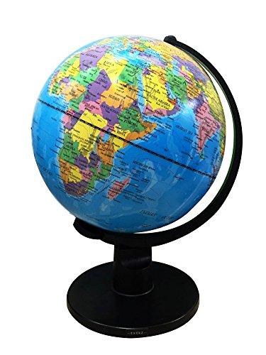 Exerz (XL - Durchmesser: 30 cm Bildung Drehbarer Globus - in Englischer Sprache - Durchmesser (Durchmesser: 30 cm)