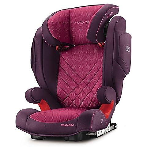 Recaro 6151.21508.66 Kinderautositz Monza Nova 2 Seatfix, power berry