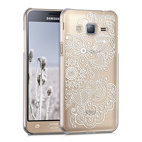 kwmobile-elegant-and-light-weight-crystal-case-design-ethnic-for-samsung-galaxy-j3-2016-duos-in-whit