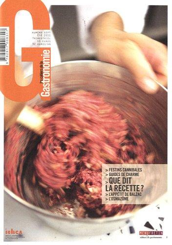 Les cahiers de la gastronomie n°7 : La critique gastronomique par