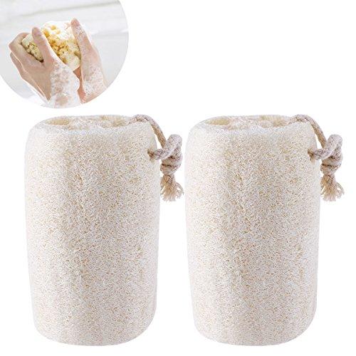 ULTNICE Natürliche Luffaschwämme Scrubber Peeling von 2