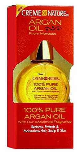 Creme of Nature Huile de Beauté 100% Pure Huile d'Argan