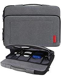 iCozzier 13-13.3 pulgadas Funda para portatil bolso organizador / multifuncional con cubierta de la caja protectora de bolsa / accesorios almacenamiento electrónico único diseño de maletín para laptop / Notebook / ultrabook MacBook - Gris Oscuro