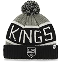 e52bf649af9  47 NHL Los Angeles Kings Calgary Bobble Knit Hat - Ice Hockey Winter Hat