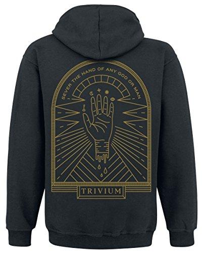 Trivium Sever The Hand Kapuzenjacke schwarz Schwarz