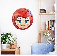 Remarque: lorsqu'ils sont appliqués sur des murs peints, les décalques de vinyle peuvent parfois décoller la peinture lors de leur retrait. Pour éviter que cela ne se produise, nous vous recommandons d'utiliser un sèche-cheveux dans un endroit ch...