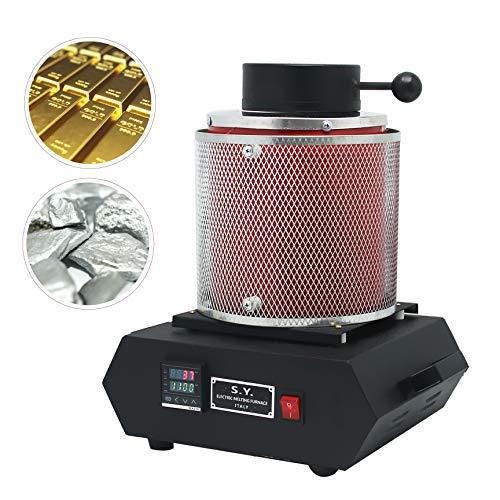 2kg Digital oro fusión horno 110V refinado fundición