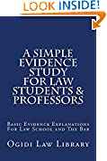 #8: A Simple Evidence Study For Law Students & Professors: e law book