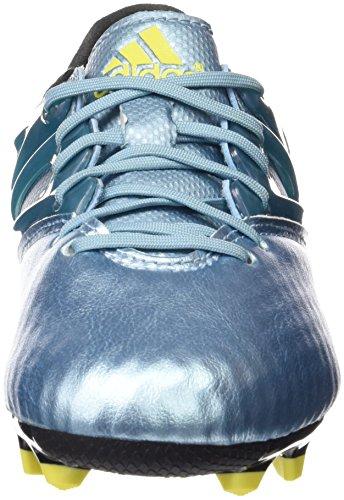 adidas Messi 10.1 Fg/Ag Jungen Sneaker blau (Matt Ice Met.F12/Bright Yellow/Core Black)
