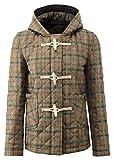 Original Montgomery Richmond Quilted Tweed Duffle Damen, Größe M, Gun Club
