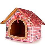 Bild: YXINY Hundehütte Katzen und Hunde Pet Room Light Red Haus Styling XSSMLXL größe  L45  45  335  52cm