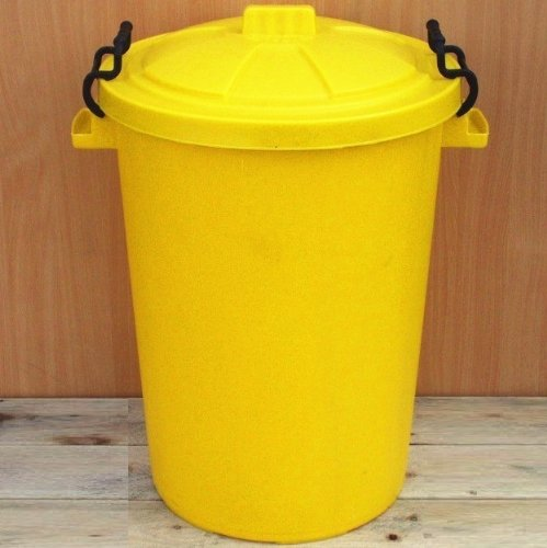 Yellow 50 Litre Bin/Storage For ...