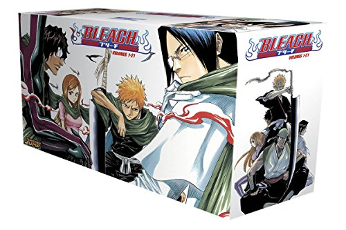 Bleach Box Set 1 Volumes 1-21 (Bleach-complete Box Set)
